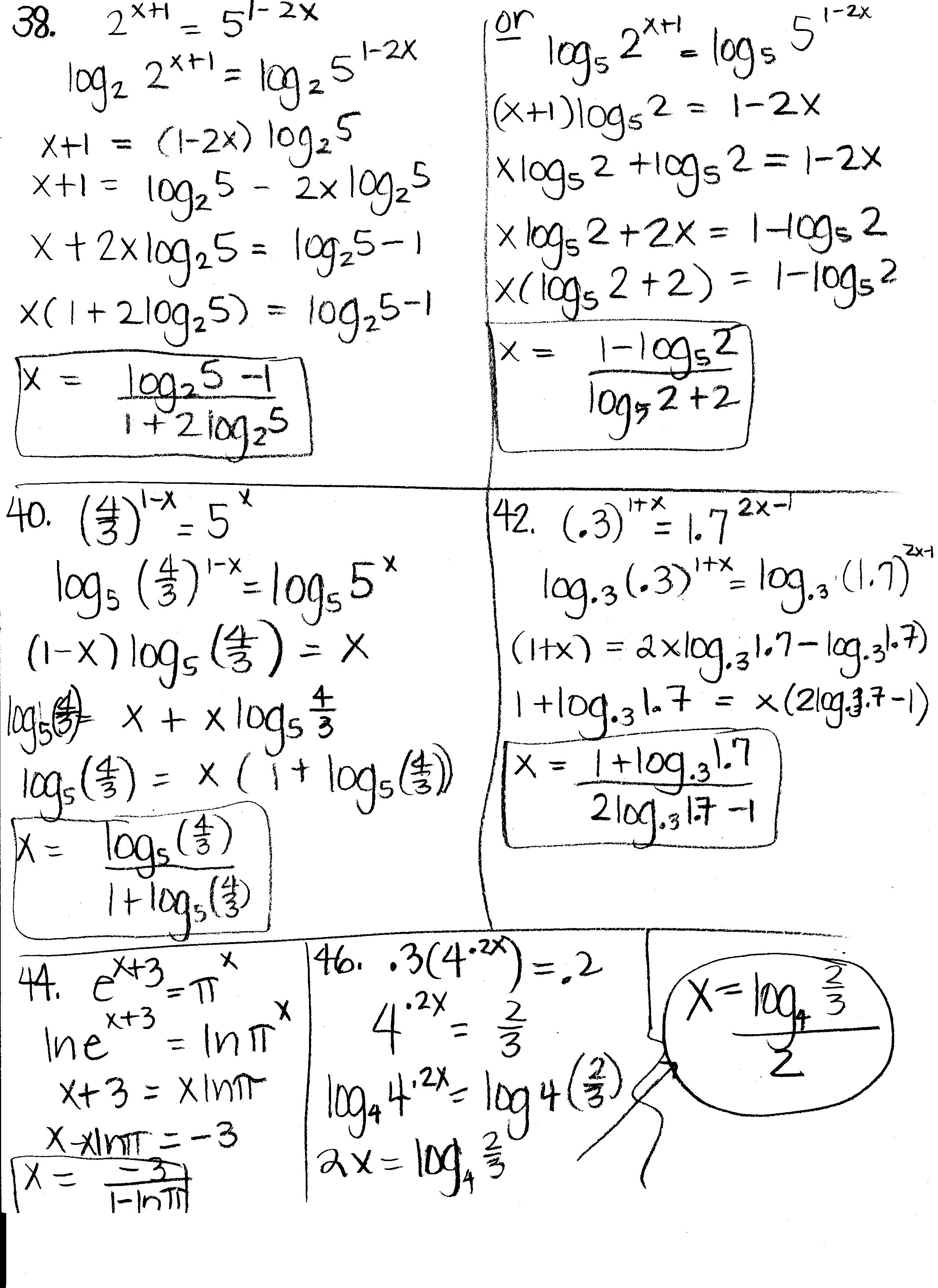 Logarithms homework help Ssays for sale – Logarithm Worksheets